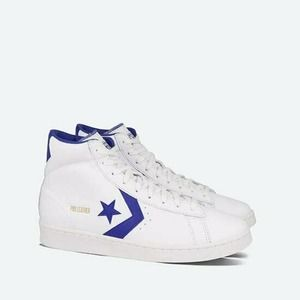 Converse Pro Leather 76 High Top White Royal Blue
